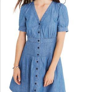 Madewell NWT denim daylilly dress